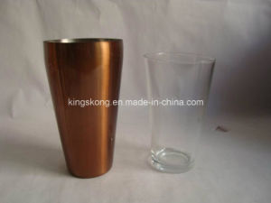 Boston Shaker Finished in Copper Electroplated, Boston Shaker Copper Plated pictures & photos