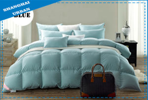 100%Cotton Raw Feather Bedding Comforter pictures & photos