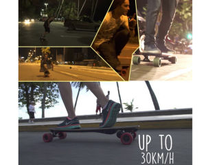 Automatic Remote Control Electric Skateboard Complete, Professional Sports Skateboard, Retro Skateboard pictures & photos