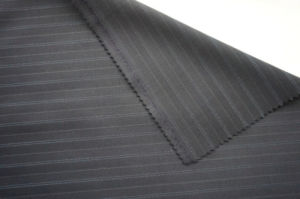 Stripe Pure Wool Fabric for Suit Worested pictures & photos