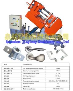 Aluminum Tilt Gravity Die Casting Machine for Shock Absorber (JD-600) pictures & photos