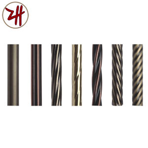 Factory Direct Sale Aluminum Curtain Pipe Rod pictures & photos