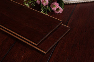 Strand Woven Spice HDF Bamboo Flooring pictures & photos