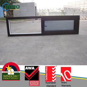 Black Color UPVC Glass Sliding Window with Australian Standard As2047 pictures & photos
