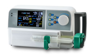 4.3 Inch LCD Screen Ce Marked Automatic Hospital Equipment Infusion Syringe Pump pictures & photos