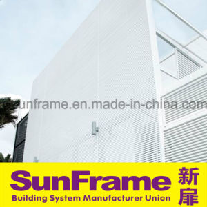 Aluminium Blinds for External Facade pictures & photos