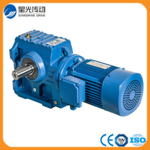 94%-96% High Efficiency K Series Spiral Bevel Gearmotor pictures & photos