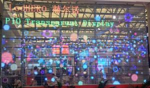 P15.625 Transparent LED Display Window/Building Video Wall pictures & photos