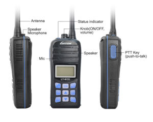 VHF Marine Radio IP-X7 Waterproof Lt-M35 Walkie Talkie pictures & photos