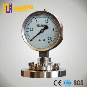 100mm Sealed Diaphragm Pressure Gauge Manometer (JH-YL-TP) pictures & photos