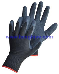 Garden Glove, 13 Gauge Nylon Latex Glove pictures & photos
