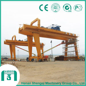 International Certificated Rail Mounted Gantry Crane pictures & photos