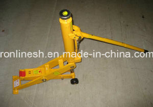 Common 7000kgs/7-Ton Hydraulic 2-Position Pad Forklift Jack/Low Pickup Truck Jack with CE pictures & photos