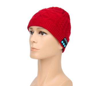 2016 Winter/Warm Rechargeable Wireless Music Bluetooth Beanie Hat/Cap for Men