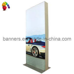 LED Light Box Display Stand with Printed Fabric pictures & photos