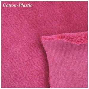 Burgundy CVC Velvet Fabric for Upholstery Textile