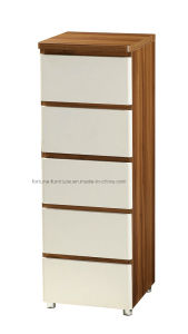 Modern Wooden Chest of 5 Drawers with Mirror (B1035) pictures & photos