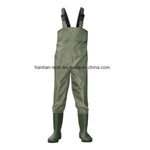 Nylon Material PVC Boots Fishing Tackle Wet Suit pictures & photos