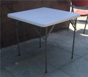 80cm Square Plastic Folding Table pictures & photos