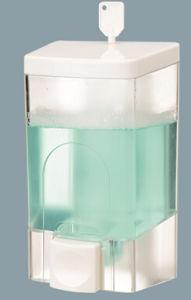 Attractive Design 700ml Fancy White Plastic Soap Dispenser