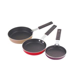 Amazon Vendor 3 PCS Nonstick Coated Aluminium Egg Pans Sets pictures & photos