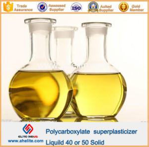 Superplasticizer Polycarboxylates High Performance Water-Reducing Admixture Liquid 40% 50% Solid pictures & photos