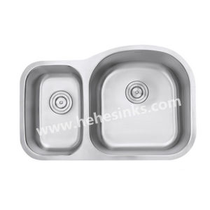 Double Bowl Stainless Steel Sink, Bar Sink, Kitchen Sink, Wash Sink with Undermount pictures & photos
