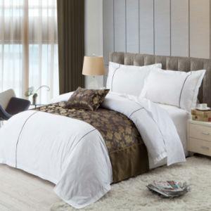 Latest Design Hot Sale 4PCS Hotel Bed Duvet Cover Set (DPFB8045) pictures & photos