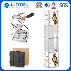 Aluminum Column Spiral Display Stand (LT-07C) pictures & photos
