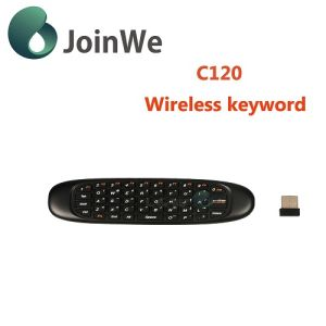 Latest Popular C120 Universal Remote Control Mini Wireless Keyboard pictures & photos