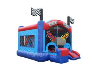 Car Racing Inflatable Bounce House Chb746 pictures & photos