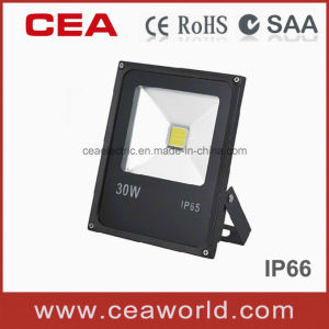 China Factory Hot Sale Epistar Chip 30W Slim LED Floodlight with CE&RoHS Certification pictures & photos
