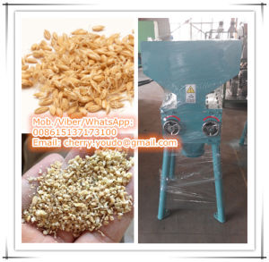 Beer Processing: Malt Crushing Machine