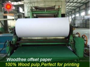 Woodfree Offset Printing Paper in Sheet pictures & photos