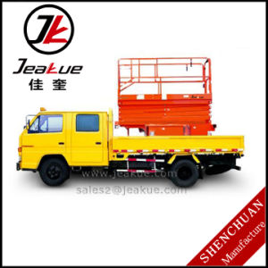 Anhui Jeakue Crazy Selling Vehicular Scissor Lift Aerial Working Platform pictures & photos