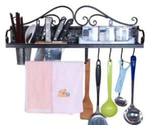 China Hardware Factory Supplies Cheap Chopsticks Holder Kitchen Shelf pictures & photos