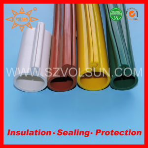 35kv High Voltage Silicone Rubber Overhead Line Insulation Sleeves pictures & photos