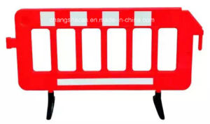 Traffic Road Safety Portable Plastic Barrier Fence pictures & photos