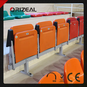 Plastic Stadium Chairs with Armrest, Wholesale Stadium Seats Oz-3085 pictures & photos