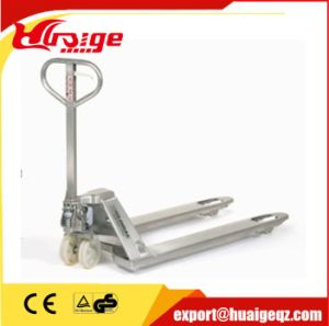 Stainless Steel Hand Pallet Jack pictures & photos
