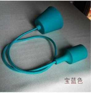 Screw Style and Ce Certification Colorful Silicone Lamp Holder pictures & photos