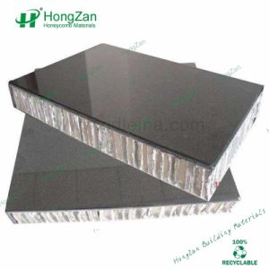 Indoor Outdoor Natural Stone Aluminum Honeycomb Sandwich Panel with Marble Grain pictures & photos