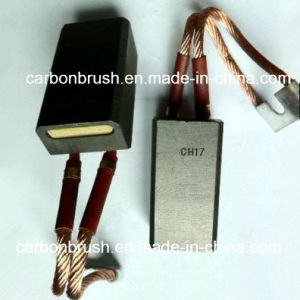 China supplier carbon brush CH17 for cement mill pictures & photos