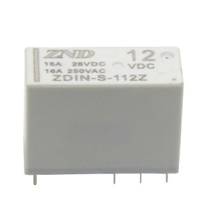 8 Pin 12V Power Relay 16A Contact Sensitivity Switch Medium Size Relay pictures & photos