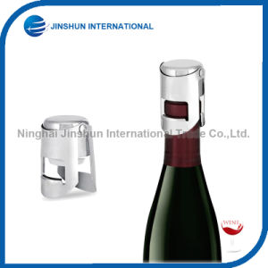 Stainless Steel Vacuum Sealed Wine Champagne Bottle Stopper pictures & photos