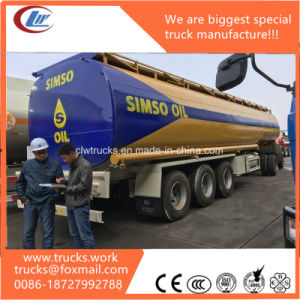 Aluminum Tank Semi Trailer for Transporting Combustible Liquids Edible Oil pictures & photos