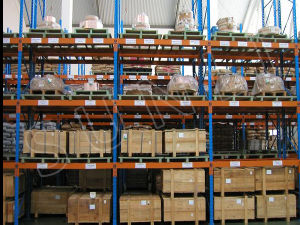 Single Deep Warehouse Storage Pallet Rack pictures & photos
