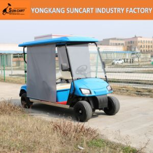 Hot Selling and New Design Electric Vehicle 4 Seater Electric Golf Cart with Ce Certificate pictures & photos