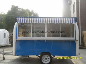 High Quality Fast Food Ice Cream Vending Trailer pictures & photos