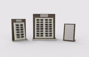 Custom Eyewear Cabinet Showcase, Sunglasses Wooden Display pictures & photos